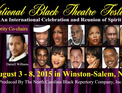 "Winston-Salem's National Black Theatre Festival, ""Kissed By Lightning"""