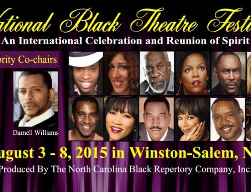"Winston-Salem's National Black Theatre Festival, ""Kissed By Lightning"""